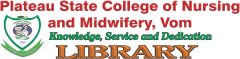 Plateau State College of Nursing and Midwifery, Vom E Library